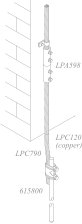 LPC120 (copper) LPA598 615800 LPC790